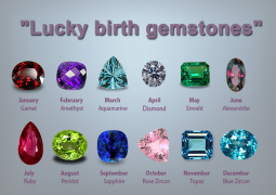Get lucky with your Birth Gemstones