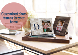 Customized photo frames for your home