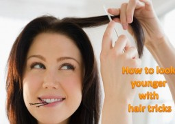 How To Look Younger With Hair Tricks